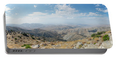 Keys View In Joshua Tree National Park Portable Battery Charger