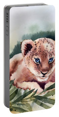 Kijani The Lion Cub Portable Battery Charger