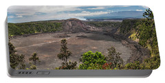 Kilauea Iki Crater Portable Battery Charger