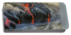 Kilauea Volcano Hawaii Portable Battery Charger