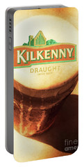 Kilkenny Draught Irish Beer Rusty Tin Sign Portable Battery Charger