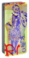 Portable Battery Charger featuring the photograph Killed by Art Block Collections