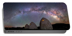 Kilns Under The Milky Way Portable Battery Charger