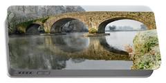 Kilsheelan Bridge In Winter  Portable Battery Charger
