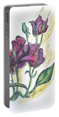 Kimberly's Spring Flower Portable Battery Charger