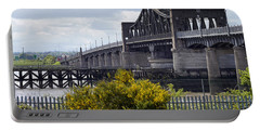 Portable Battery Charger featuring the photograph Kincardine Bridge by Jeremy Lavender Photography