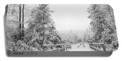 Portable Battery Charger featuring the photograph Kindness Is Like Snow by Lori Deiter