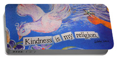 Kindness Is My Religion Dk Portable Battery Charger
