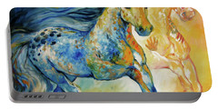 Kindred Spirits  Portable Battery Charger by Marcia Baldwin