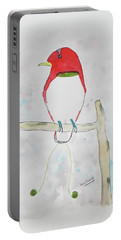 King Bird Of Paradise Portable Battery Charger