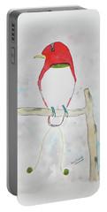 King Bird Of Paradise Portable Battery Charger by Keshava Shukla