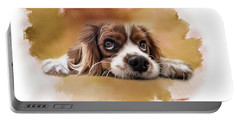 King Charles Cavalier Portable Battery Charger