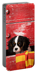 King Charles Cavalier Puppy  Portable Battery Charger
