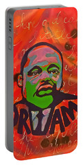 King Dreaming Portable Battery Charger by Miriam Moran