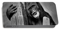 King Kong Selfie B W  Portable Battery Charger