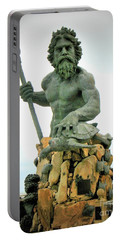 King Neptune Statue Portable Battery Charger