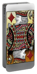 King Of Diamonds   Portable Battery Charger
