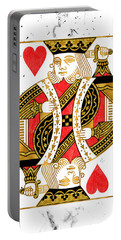 King Of Hearts Portable Battery Charger