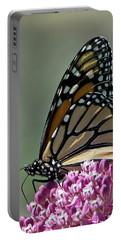 King Of The Butterflies Portable Battery Charger