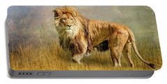 King Of The Serengeti Portable Battery Charger