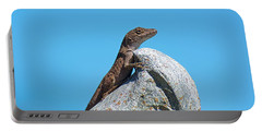 King Of The World Portable Battery Charger by Kenneth Albin