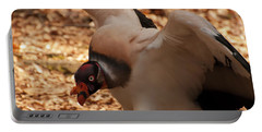 King Vulture 1 Portable Battery Charger by Chris Flees