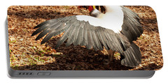 King Vulture 3 Strutting Portable Battery Charger by Chris Flees
