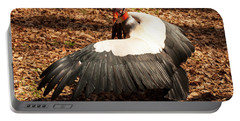 King Vulture 4 Strutting Portable Battery Charger by Chris Flees