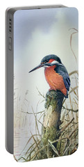 Kingfisher Portable Battery Charger by Carl Donner