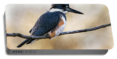 Kingfisher Listens Portable Battery Charger