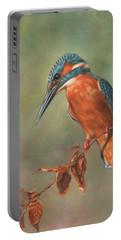 Kingfisher Perched Portable Battery Charger