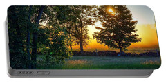 Portable Battery Charger featuring the photograph Kingsbury Sunset by Kendall McKernon