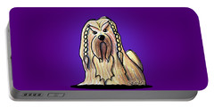 Kiniart Lhasa Apso Braided Portable Battery Charger