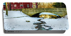 Kirby's Mill Landscape - Creek Portable Battery Charger