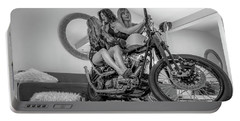 Portable Battery Charger featuring the photograph Kiss Me Now- by JD Mims
