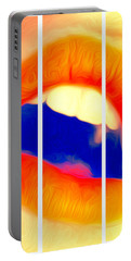 Kiss Me-triptych Portable Battery Charger