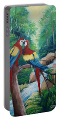 Kiss On The Forest Portable Battery Charger