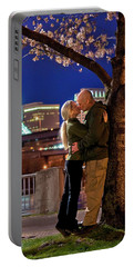 Kiss Under The Cherry Tree - Vertical Portable Battery Charger