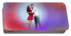 Kissing Couple Portable Battery Charger
