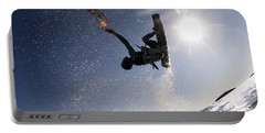 Kitesurfing In The Mediterranean Sea  Portable Battery Charger
