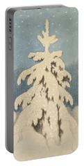 Kittelsen, Theodor 1857-1914 The Christmas Tree Portable Battery Charger
