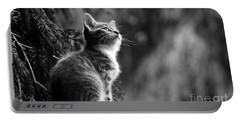 Kitten In The Tree Portable Battery Charger