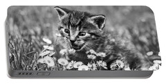 Kitten With Daisy's Portable Battery Charger