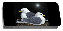 Kittiwakes Nesting Portable Battery Charger