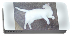 Kitty Ballet Portable Battery Charger by Denise Fulmer