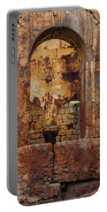 Portable Battery Charger featuring the photograph Near Guzelyurt - Kizil Kilise - Layers by Mark Forte