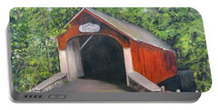 Knechts Covered Bridge Portable Battery Charger