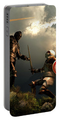 Knight Fight Portable Battery Charger