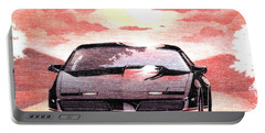 Knight Rider Portable Battery Charger by Gina Dsgn