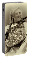 Portable Battery Charger featuring the photograph Knights Of Old 17 by Bob Christopher